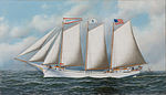 Antonio Jacobsen - Three Masted Schooner 'Andrew C. Pierce', 1905.jpg