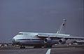 Antonov An-124-100 Ruslan CCCP-82007 Aeroflot, Farnborough UK, September 1988. (5589942328).jpg