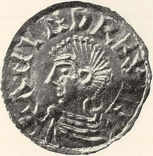 Anund Jacob - Coin minted for King Anund Jacob