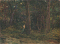 AokiShigeru-1903-Forest in Ōta.png
