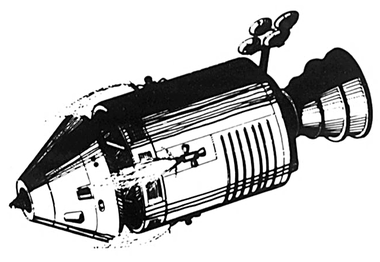 apollo spacecraft clipart - 1152×604