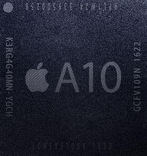 Apple A10 - Image: Apple A10 Fusion APL1W24