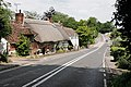 Approaching Middle Wallop crossroads on the A343 - geograph.org.uk - 473170.jpg