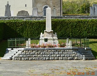 Apremont, Ain - Apremont War Memorial