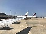Apron of Fukuoka Airport 20170818-2.jpg