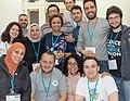 Arab Wikimedians Meeting - Wikimedia Summit 2019.jpg