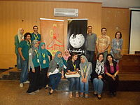 Arabic Wikipedia Seminar at Faculty of Alsun-1.JPG
