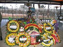 La tomba di Yasser Arafat