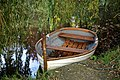 Arboretum lake rowing boat West Lodge Park, Hadley Wood, Enfield, London, England 2.jpg