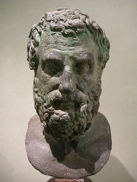 Archivo:Archeologico firenze, bronzi della Meloria, eschilo.JPG