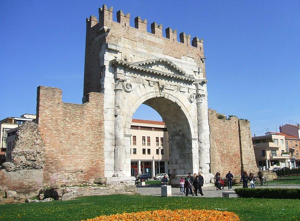 Arco d'Augusto, Rimini Italy