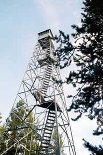 National Register of Historic Places listings in Idaho County, Idaho - Image: Arctic Point Fire Tower
