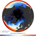 Arctic ocean SST and ice edge.png