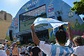 Argentina fans at São Paulo Fan Fest.jpg