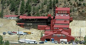 National Register of Historic Places listings in Clear Creek County, Colorado - Image: Argo Gold Mine & Mill