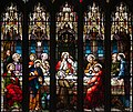 Armagh Roman Catholic Cathedral of St. Patrick East Transept East Wall Window Sacred Heart and Last Supper Detail Last Supper 2013 09 24.jpg