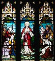 """Armagh Roman Catholic Cathedral of St. Patrick East Transept South Wall Window """"Come to Me all you that labour and are burdened and I will refresh you"""" Detail 2013 09 24.jpg"""