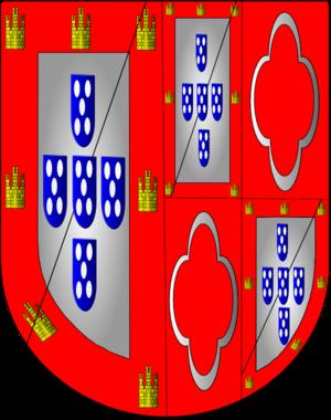Duke of Lafões - Image: Armas duques lafões