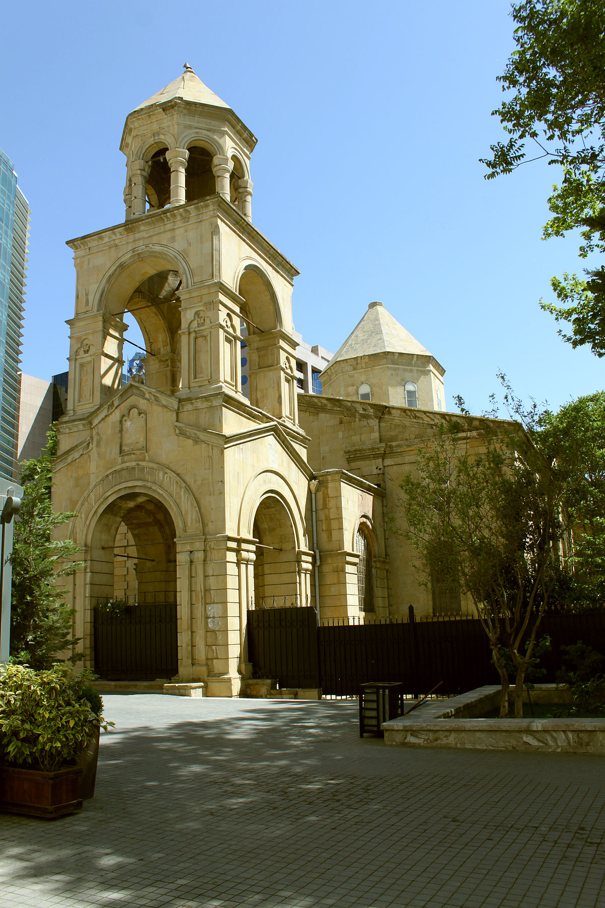 Церковь святого георгия в баку фото