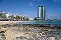 Arrecife Gran Hotel & Spa desde la playa.jpg