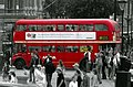 Arriva Routemaster bus, route 159, Trafalgar Square, 3 November 2005.jpg