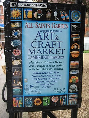 Art & Craft Market All Saints Garden, Trinity ...