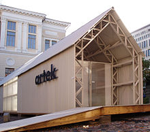 Artek Pavilion Vor Dem Design Museum Triennale Di Milano 2007