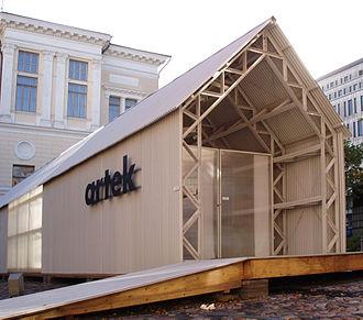 Artek (company) - Shigeru Ban, Artek Pavilion, 2007
