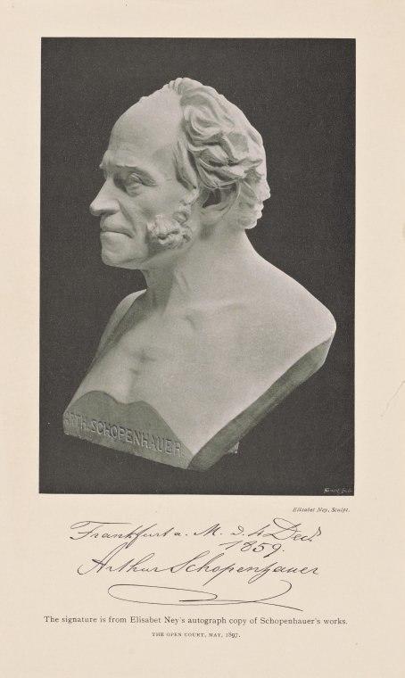Arthur Schopenhauer by Elisabet Ney