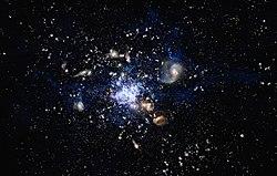 Resultado de imagen de Galaxias en formación