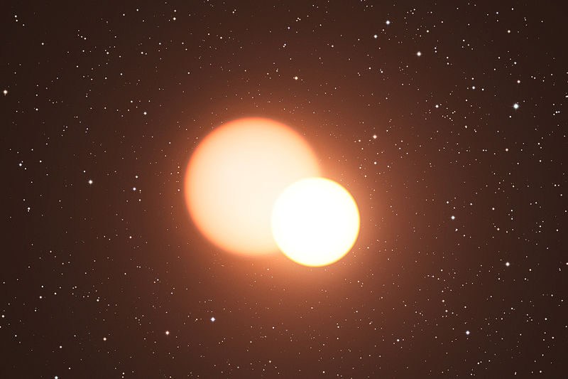 File:Artist's impression of the remarkable double star OGLE-LMC-CEP0227.jpg
