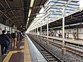 Asakusabashi Station platform 2018-10-14.jpg