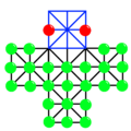 Asalto Board Diagram with Piece Placement.png