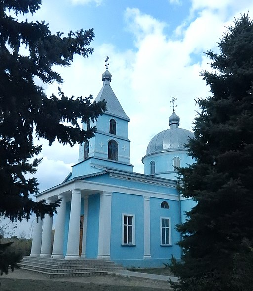Ascension Church in Novopetrivka 4