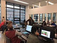 Atelier Archi Wiki Femmes du 2 février 2019 aux Archives départementales de l'Hérault 02.jpg