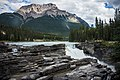 Athabasca Falls - icefields parkway (33413612760).jpg