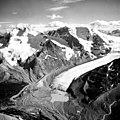 Athabasca Glacier, Calving Terminus and Side Cirque Glacier, August 21, 1964 (GLACIERS 1665).jpg