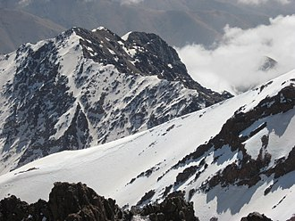 Toubkal - The highest peak of Toubkal