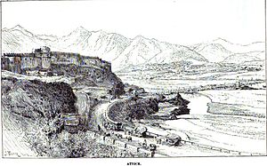 Battle of Attock - Attock Fort, whose capture by the Sikh Empire lead to the Battle of Attock