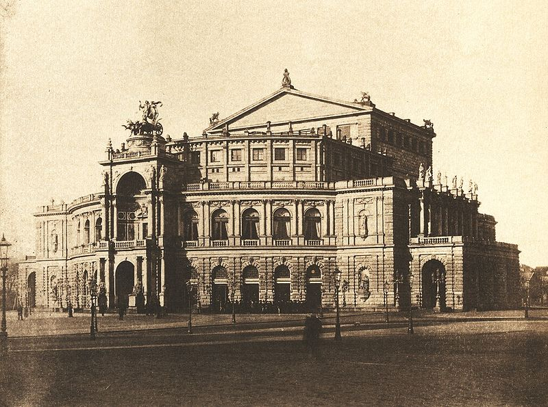 Файл:August Kotzsch - Semperoper nach 1880.jpg