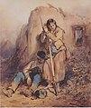 August von Pettenkofen - Ruhende Soldaten im ungarischen Feldzug - 1850.jpeg