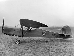 British Taylorcraft Auster Mk.III (Model F)