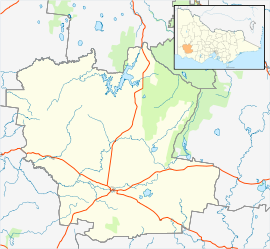 Coleraine is located in Shire of Southern Grampians