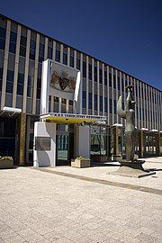 Australian Capital Territory Legislative Assembly and the statue Ethos