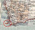 Australien, karta, Nordisk familjebok Kap Leeuwin.jpg
