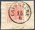 Austria Lombardy-Venetia 1854 CAVARZERE.jpg