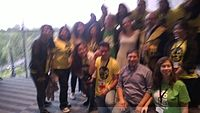 Avner and Darya's wiki Wedding at Wikimania by ovedc 04.jpg
