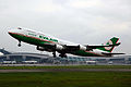 B-16412 - EVA Airways - Boeing 747-45E - CAN (8964303865).jpg