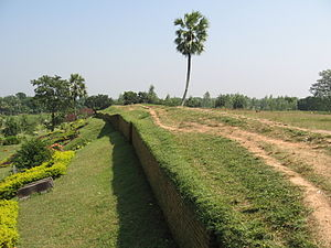 Mahasthangarh - Mahasthangarh is the oldest archaeological site in Bangladesh. It dates back to 300 BCE and was the ancient capital of the Pundra Kingdom.