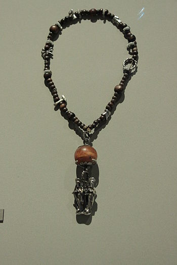 A rosary from 1475-1500, Germany.